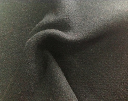 WOOL BLENDED SOLID WOVEN 148CM