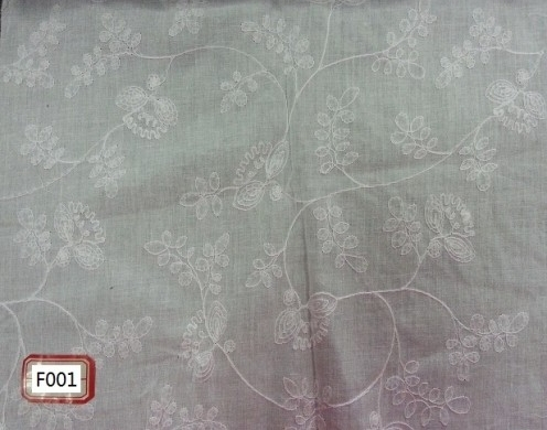 COTTON VOILE EMBROIDERY 57/58''