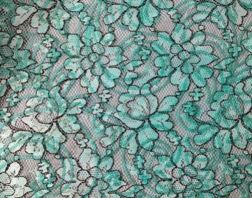 POLY LACE SEQUINS EMB.51/52