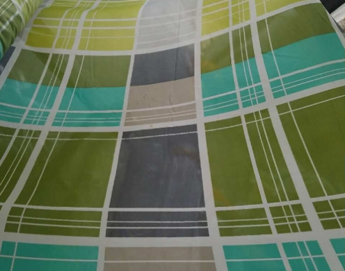 Poly Bed Sheeting Print Woven 210~295cm
