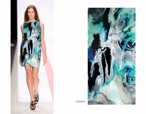 Poly Spandex Hi-Quality Silky Satin Digital Printed Woven 57/58