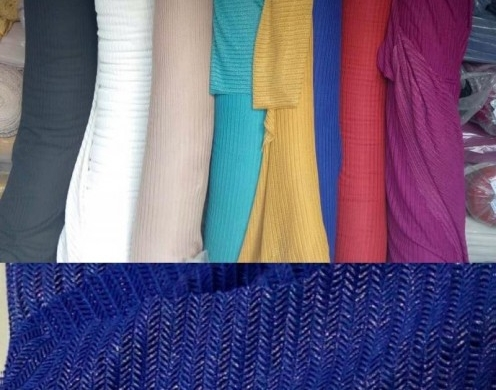 Poly Spandex Wheat Solid knit with foil  58/6...