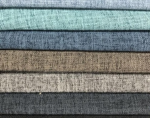 Poly Linen Look Solid bonded woven 150cm- for ...