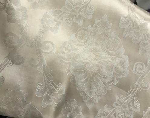 Poly Jacquard fabric solid woven 280cm - use f...