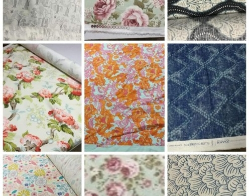 Voiscose Print and Cotton Canvas Print 250~290...