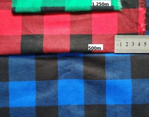 20*10 Cotton Flannel Print Woven 160gsm 57