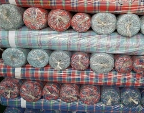 Cottn Yarn Dyed Check 10's~50's Woven 60