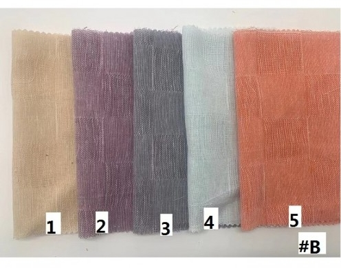(70/30) Cotton Linen Dobby Yarn Dyed Woven 100gsm 57