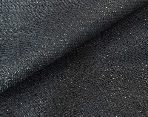 Wool Blended Metallic Spandex Dyed Knit 200g/y...