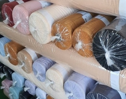 Poly Solid Dyed Woven 120-150g/yd 60