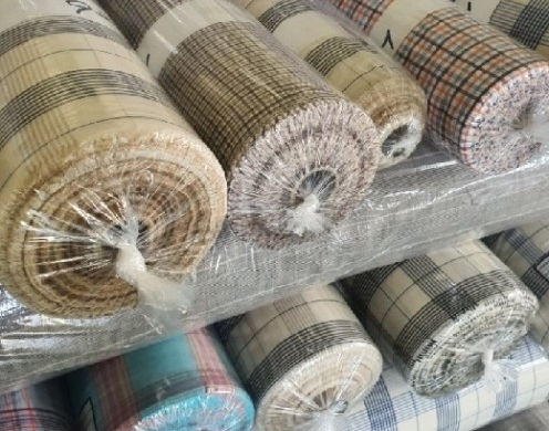 Cotton Yarn Dyed Check Woven 60